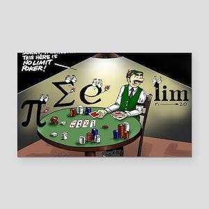 Pi_47 No Limit Poker (6.55x4. Rectangle Car Magnet