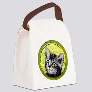 what part of meow2 Canvas Lunch Bag