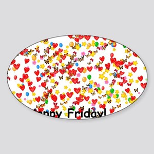 Happy Friday Sticker