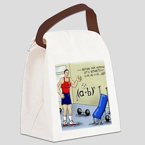 Pi_56 Math Stretches (7.5x4.5 Col Canvas Lunch Bag