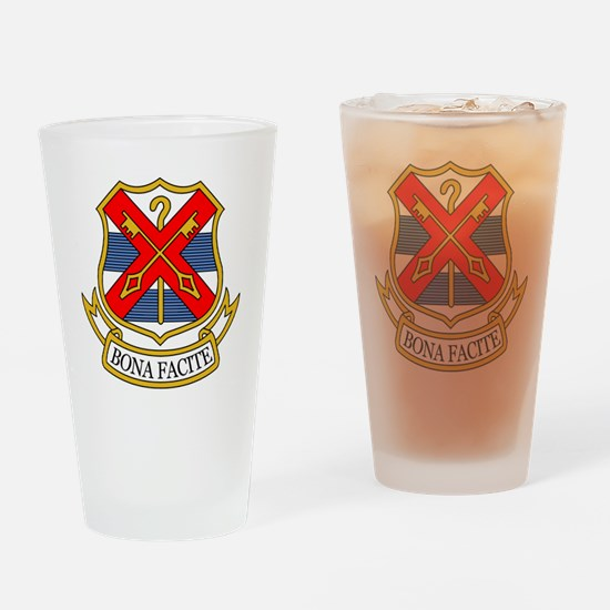 Badge - Colour Drinking Glass