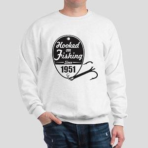 1951 Hooked on Fishing Sweatshirt