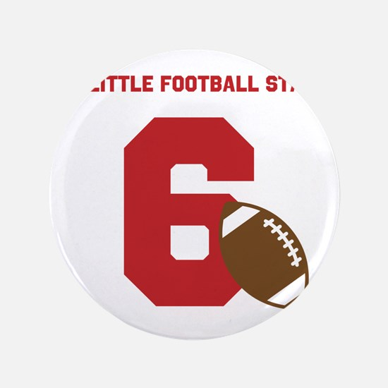"Football Star Custom Age 3.5"" Button"