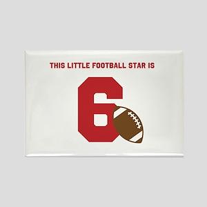 Football Star Custom Age Magnets