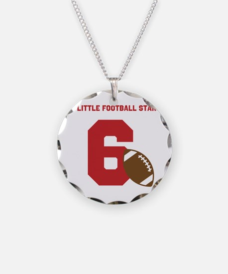 Football Star Custom Age Necklace