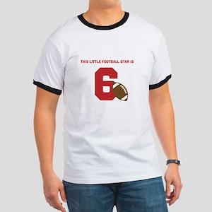 Football Star Custom Age T-Shirt