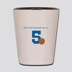 ef8a5c6c93cf Kids Birthday 5 Shot Glasses - CafePress