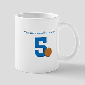 Basketball Star Custom Age Mugs