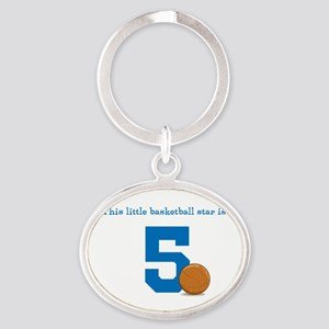 Basketball Star Custom Age Keychains