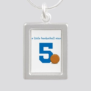 Basketball Star Custom Age Necklaces
