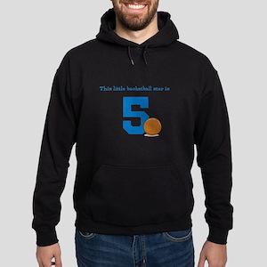Basketball Star Custom Age Hoody