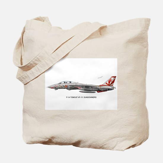 VF-111 Sundowners Tote Bag