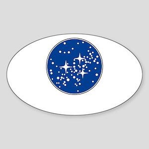 star trek1 Sticker (Oval)