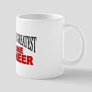 """The World's Greatest Marine Engineer"" Mug"
