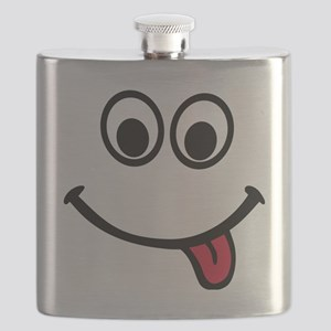 face_red_tongue Flask