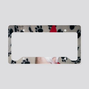 Holiday Ratty License Plate Holder