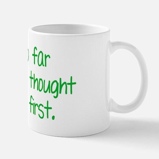 farbehindBTLEgreen Mug