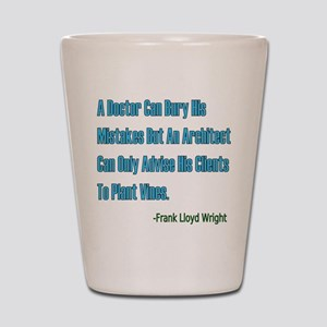 Architects and Doctors Shot Glass