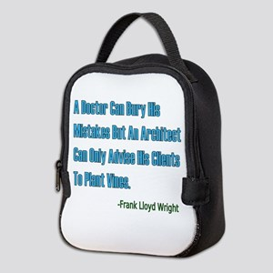 Architects and Doctors Neoprene Lunch Bag