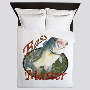 Bass master Queen Duvet