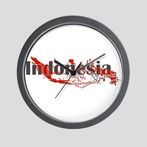 Indonesia Diver Wall Clock