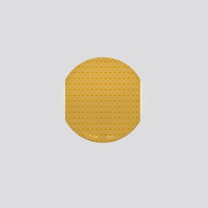 Pattern beige 100 Mini Button