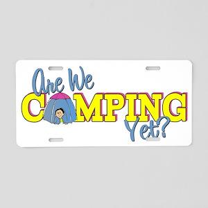 camp3 Aluminum License Plate