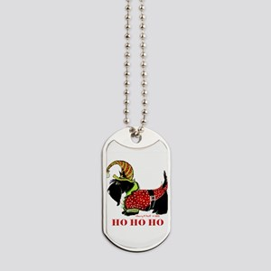 Santas Scottie Elf Dog Tags