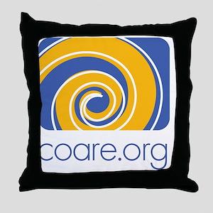 COARE logo Throw Pillow