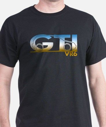 gti_vr6_chrome T-Shirt