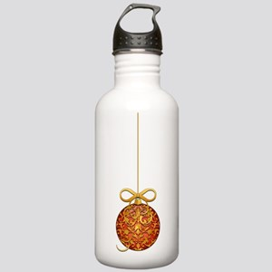 GoldLeafSingleOrnBowTR Stainless Water Bottle 1.0L
