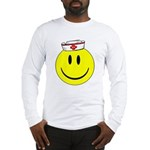 Registered Nurse Happy Face Long Sleeve T-Shirt