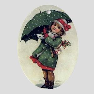 umbrella Oval Ornament