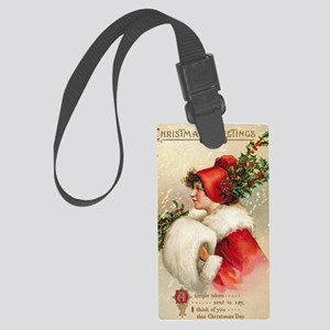 Greetings Large Luggage Tag