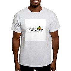 - I'm a survivor - Ash Grey T-Shirt