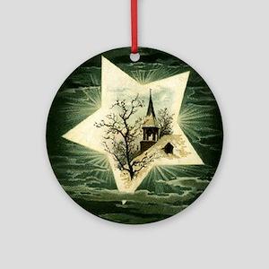 Star Round Ornament