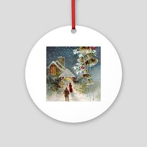Scene 5 Round Ornament