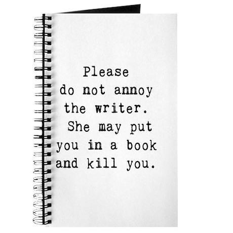 Annoy writer Journal