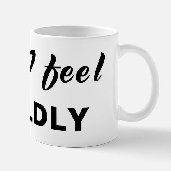 Today I feel worldly Mug