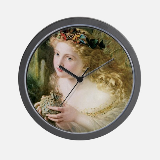 Beautiful Fairy By Anderson Wall Clock