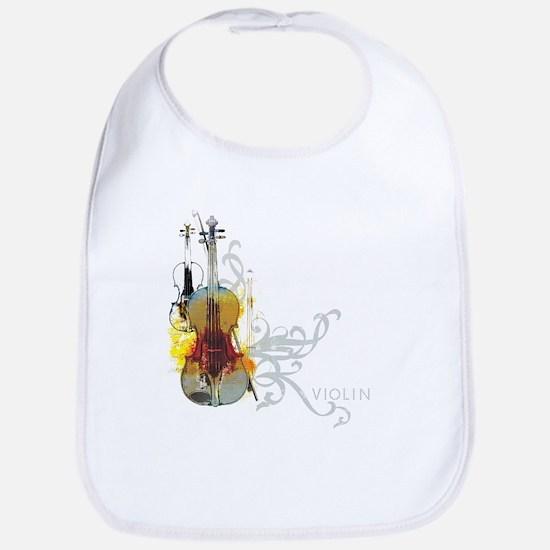 Violin Art 01 Bib