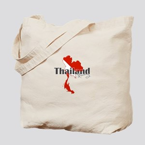 Thailand Diver Tote Bag