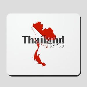 Thailand Diver Mousepad