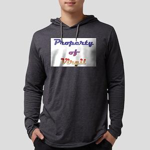 Property Of Virgil Male Mens Hooded Shirt