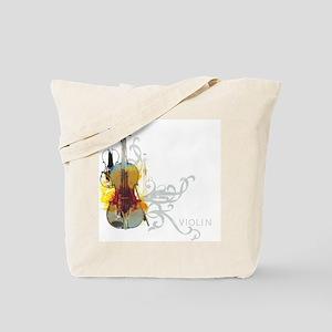 Violin Art 01 Tote Bag