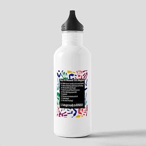 tsatop10 Stainless Water Bottle 1.0L