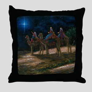 ThreeWiseMen3 Throw Pillow