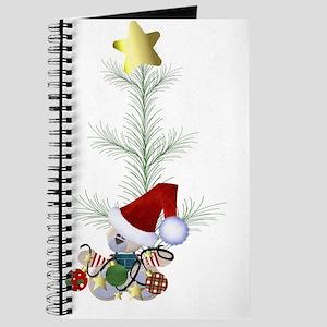 christmas tree elf Journal