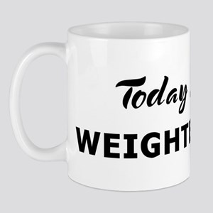 Today I feel weighted down Mug