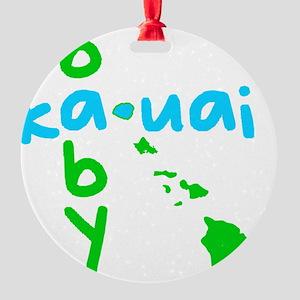 babykauaiblue Round Ornament